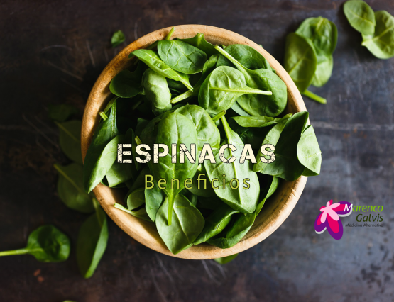 Espinacas, beneficios